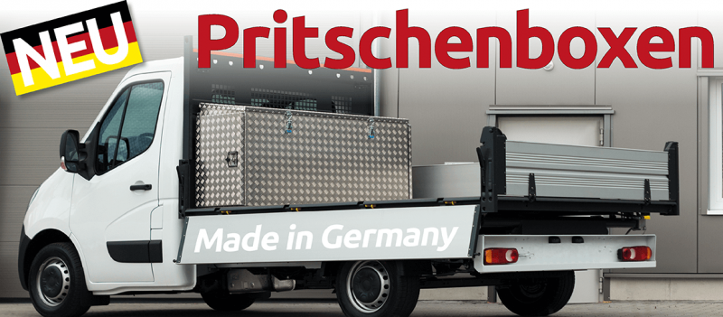 Pritschenboxen Made in Germany