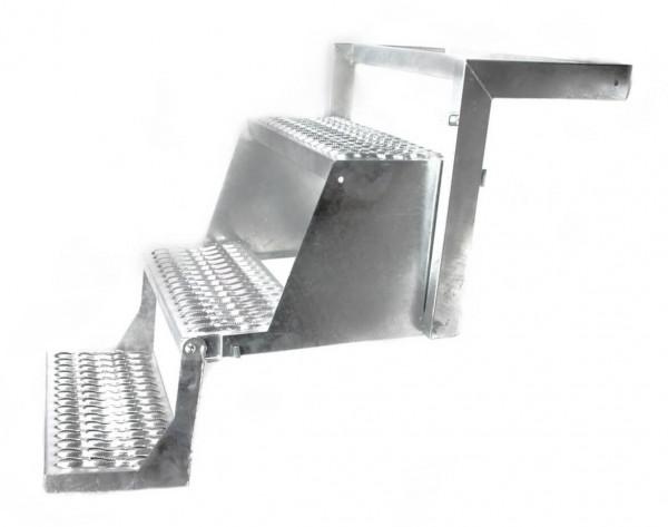 LKW Aufstiegsleiter Trittstufe klappbar 3 stufig Takler