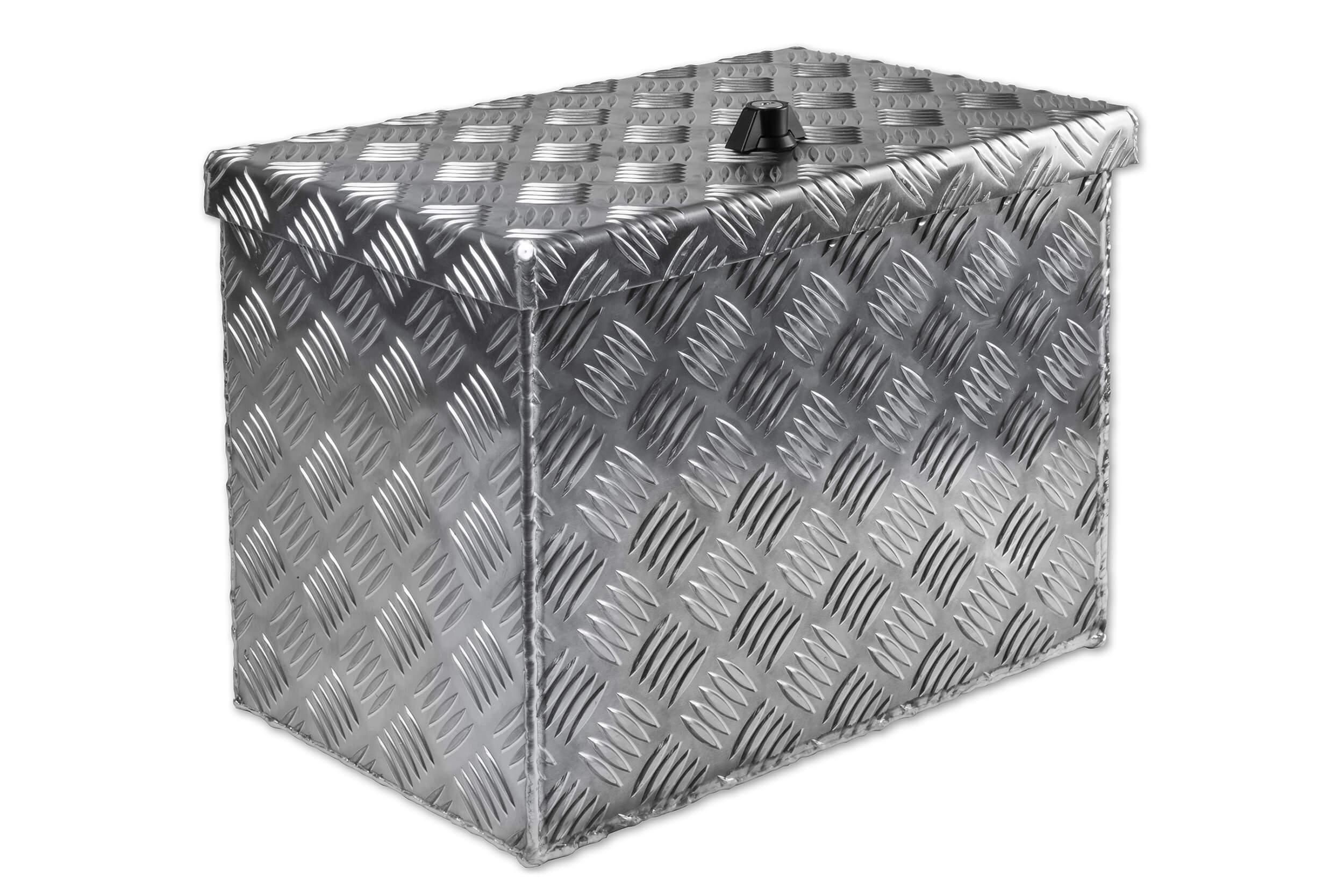 unterflurbox alu riffelblech b 414 x h 257 x t 300 mm unterflurboxen mit geringer einbauh he. Black Bedroom Furniture Sets. Home Design Ideas