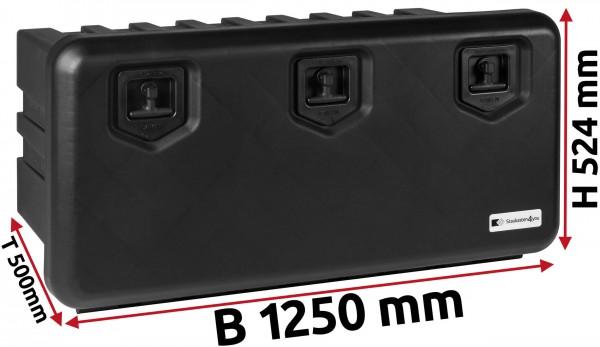 LKW Staukasten 1250x524x500mm aus Kunststoff Daken ARKA