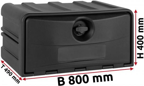 LKW Staukasten 800x400x490mm aus Kunststoff Copar