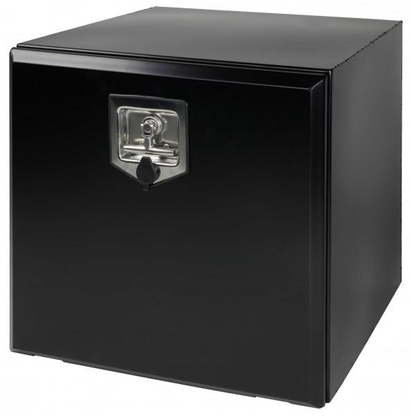 Stahl Staukasten schwarz pulverbeschichtet 500x350x400mm