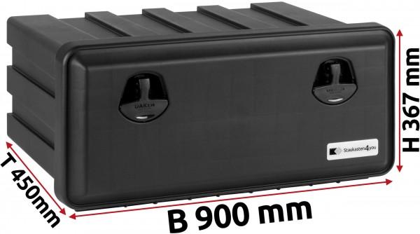 LKW Staukasten 900x367x450mm aus Kunststoff Daken Just