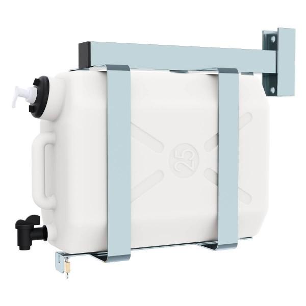 Lokhen-Waschwassertank-mit-Halterung-25Ltr.