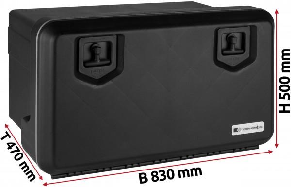 LKW Staukasten 830x500x470mm aus Kunststoff Daken Welvet