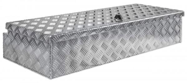 Deichselbox 914x190x387mm aus Alu Riffelblech