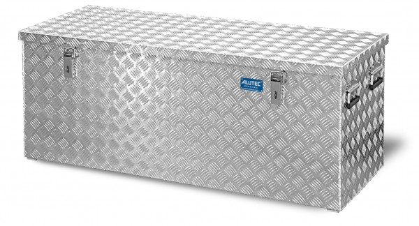 PKW Pritschenbox 1272x525x520mm Aluminium Riffelblech Alutec