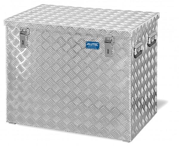 PKW Pritschenbox 722x525x645mm Aluminium Riffelblech Alutec