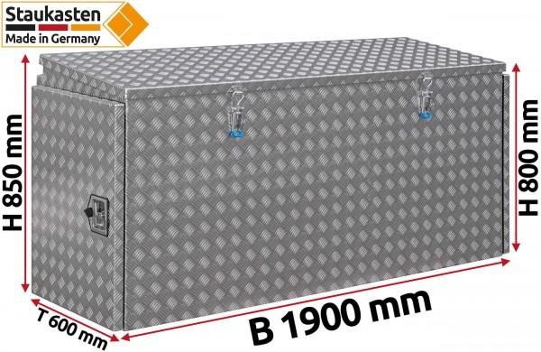 PKW Transporter Pritschenbox Werkzeugkasten 1900x850x600mm