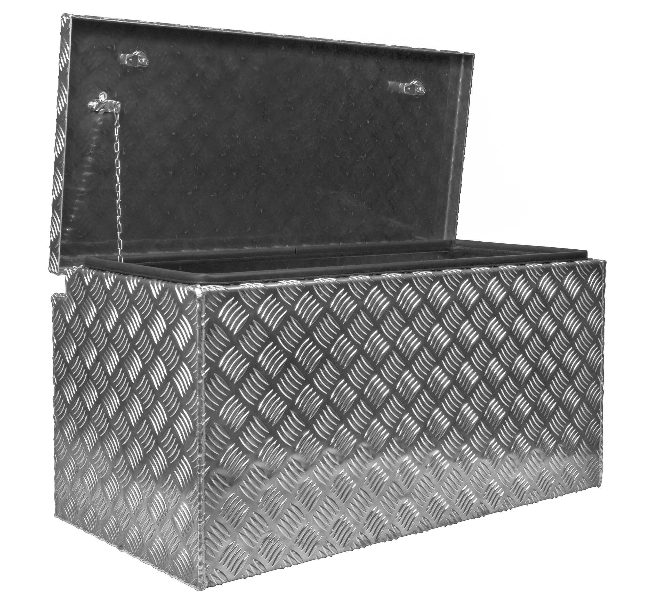 deichselbox alu riffelblech b 1154 x h 400 x t 387 mm inhalt ca 173 ltr aluminium. Black Bedroom Furniture Sets. Home Design Ideas