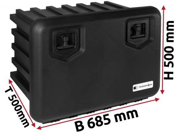 LKW Staukasten 685x500x500mm aus Kunststoff Daken ARKA