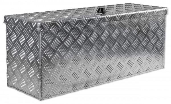 Unterflurbox 714x257x300mm aus Alu Riffelblech