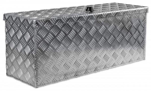 PKW Deichselbox Truckkbox 714x257x300mm aus Alu Riffelblech