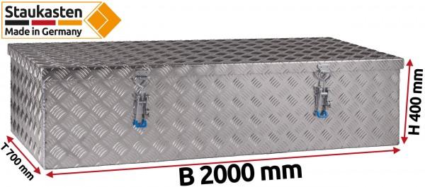 LKW Dachbox Dach Staukasten 2000x400x700mm