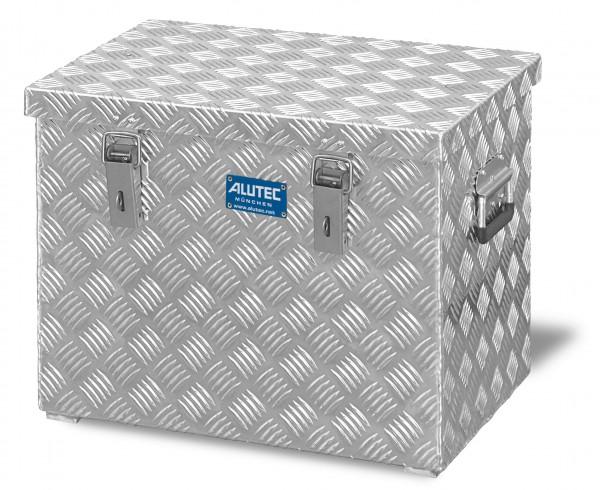 PKW Pritschenbox 522x375x420mm Aluminium Riffelblech Alutec