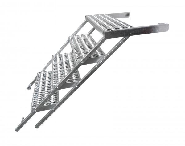 LKW Aufstiegsleiter Trittstufe ausziehbar 4 stufig Takler