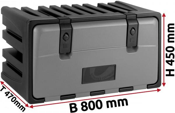 LKW Staukasten 800x450x470mm aus Kunststoff LAGO Vertigo