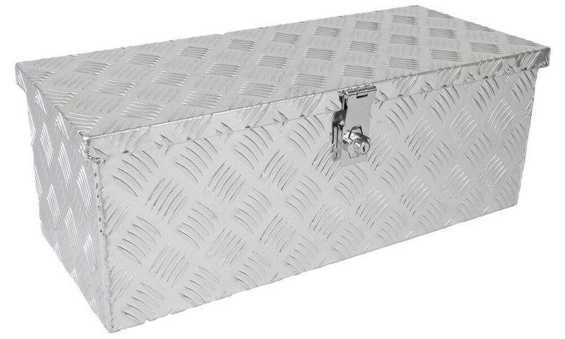 Deichselbox Truckbox aus Aluminium Riffelblech