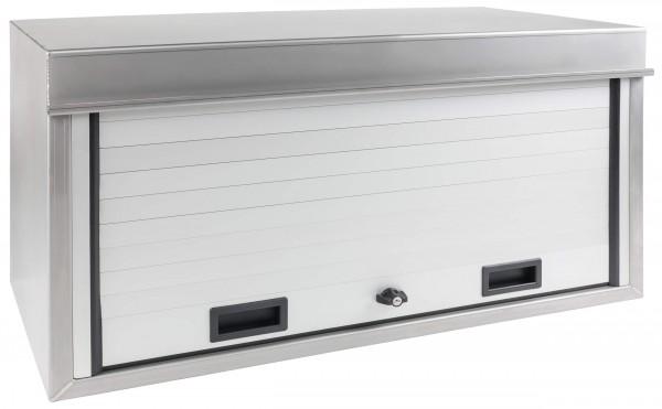 LKW Edelstahlstaukasten mit Rollladen 1400x500x500 mm