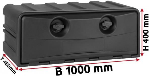 LKW Staukasten 1000x400x490mm aus Kunststoff Copar