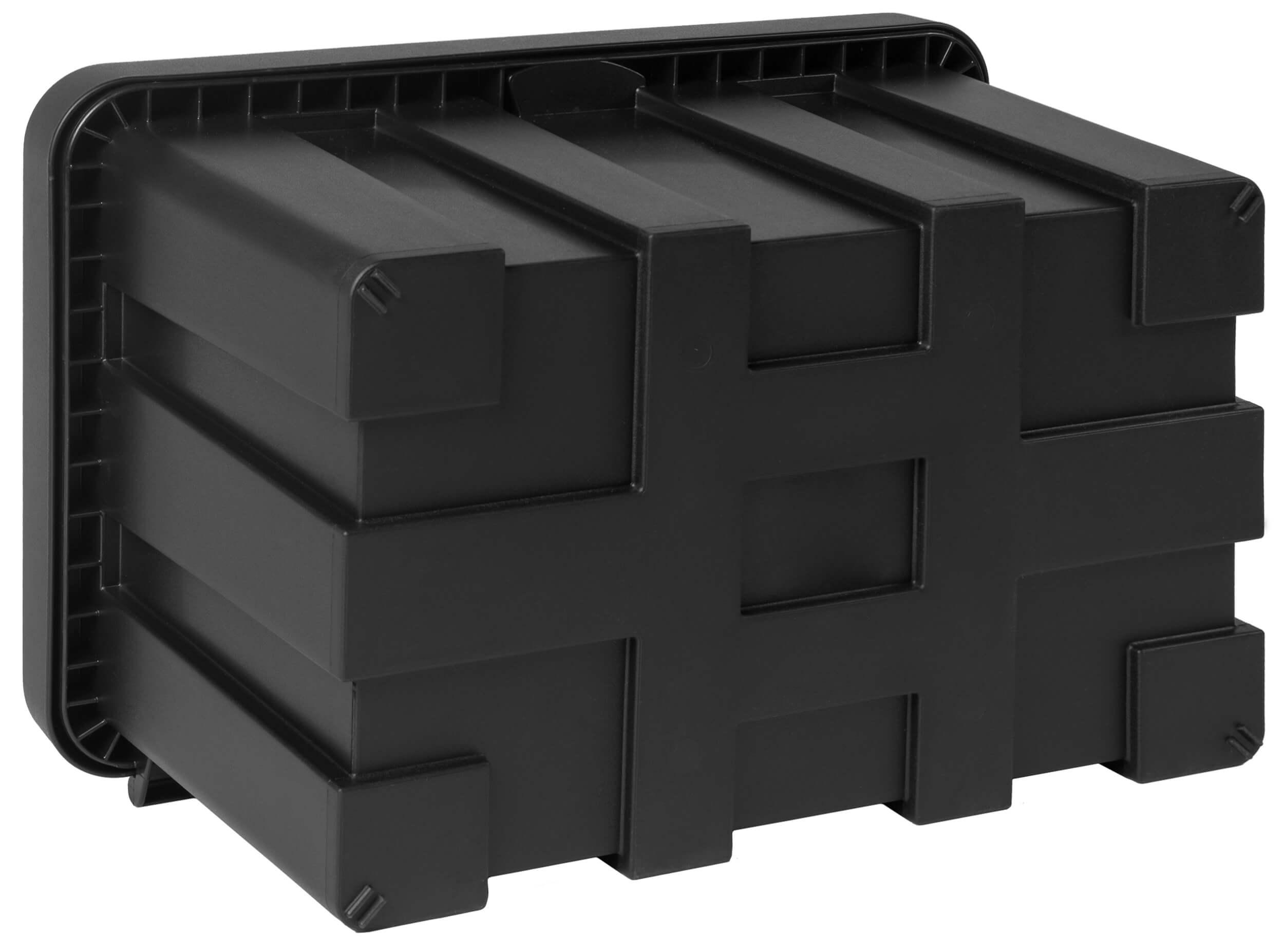 Staubox Staukasten Werkzeugkasten STABILO Kunststoff 500x400x350mm ähnl. DAKEN