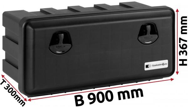LKW Staukasten 900x367x300mm aus Kunststoff Daken Just