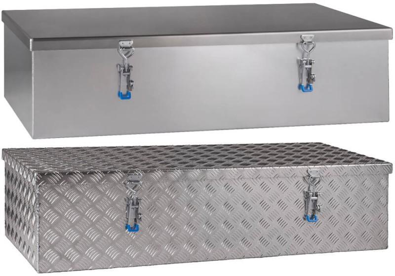 Pickup Dachboxen aus Aluminium Riffelblech
