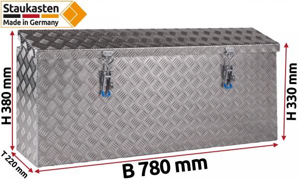 Pferde Anhaenger Seitenkasten Staukasten 780x380x220mm