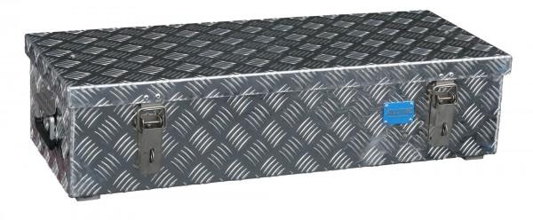 PKW Pritschenbox 822x325x210mm Aluminium Riffelblech Alutec