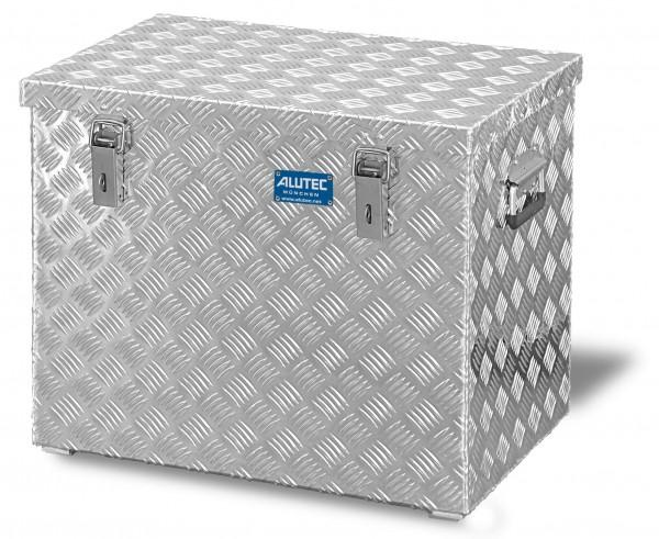 PKW Pritschenbox 622x425x520mm Aluminium Riffelblech Alutec