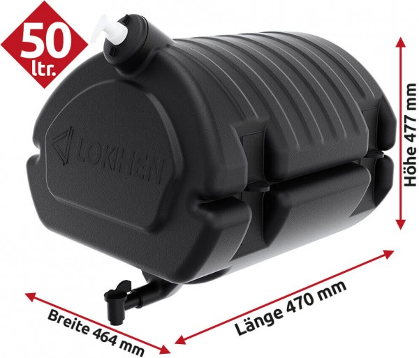 Waschwassertank mit Seifenspender 50 Ltr. Lokhen