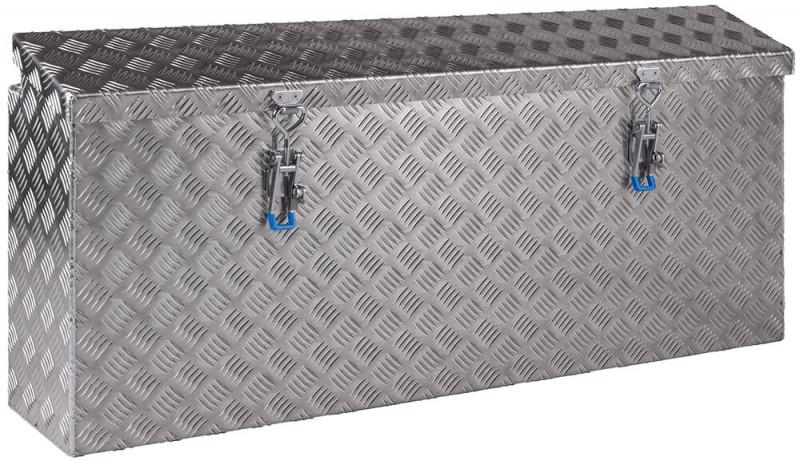 Seitenkästen für Anhänger aus Aluminium Riffelblech