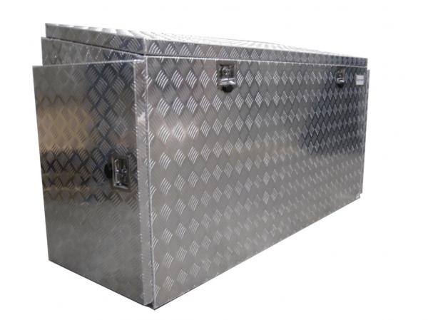 Pritschenbox-Werkzeugbox-Alu-Riffelblech-mit-Türen