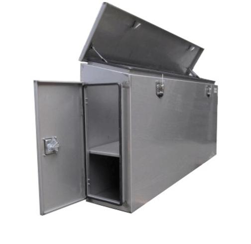Pritschenbox-Werkzeugbox-Edelstahl-mit-Türen