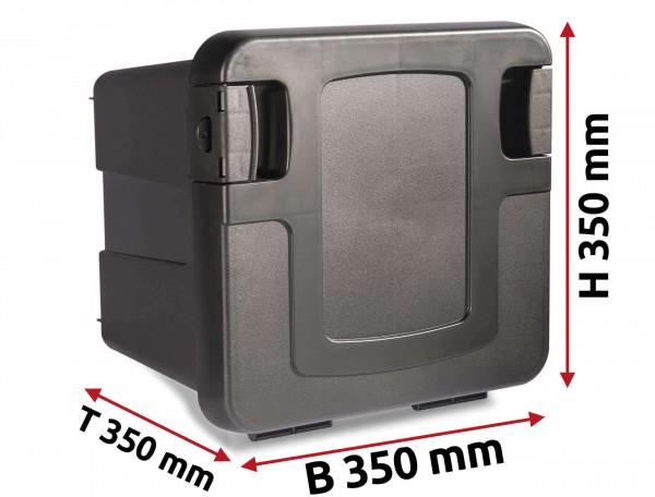 LKW Staukasten 350x350x350mm aus Kunststoff Copar Mini Box