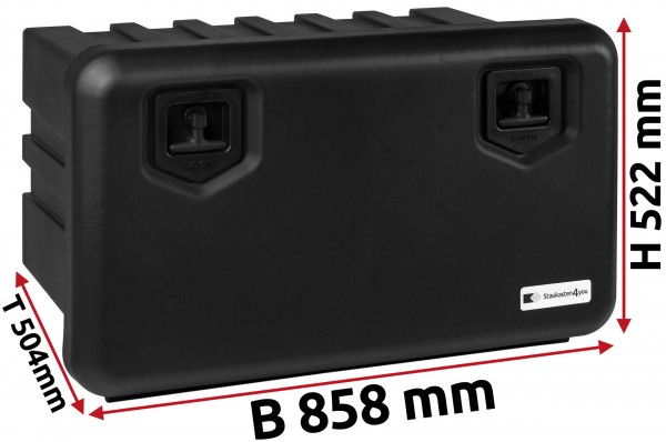 LKW Staukasten 858x522x500mm aus Kunststoff Daken ARKA
