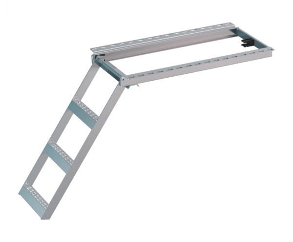 LKW Aufstiegsleiter Trittstufe ausziehbar 3 stufig Takler