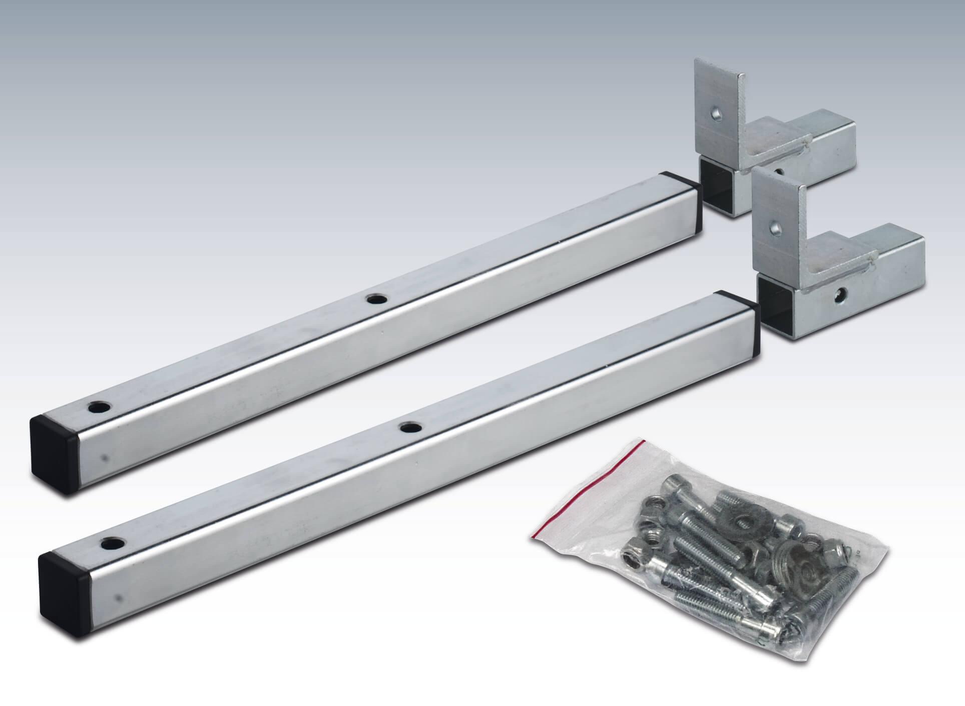 Halterungen Befestigungssatz f/ür Deichselbox Halter f/ür Staubox 2x U-B/ügel gro/ß Werkzeugkasten Montagesatz