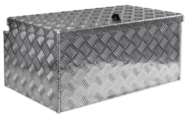 deichselbox alu riffelblech b 614 x h 295 x t 390 mm inhalt ca 69 ltr aluminium. Black Bedroom Furniture Sets. Home Design Ideas